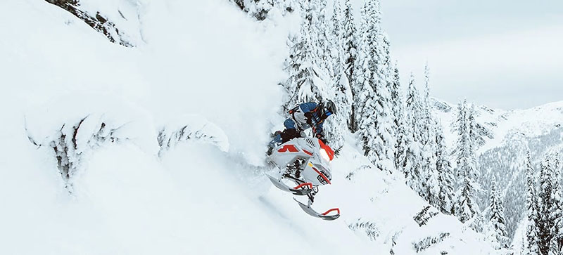 2021 Ski-Doo Freeride 154 850 E-TEC SHOT PowderMax Light FlexEdge 3.0 LAC in Speculator, New York - Photo 8