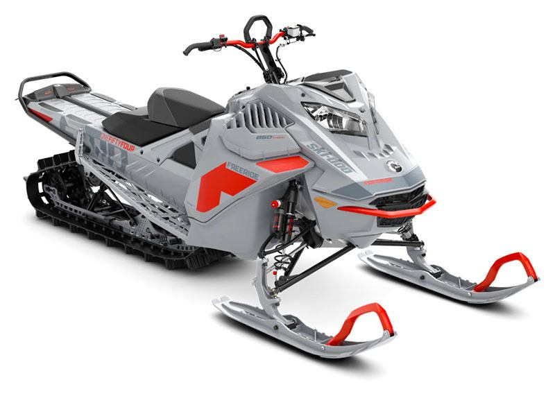 2021 Ski-Doo Freeride 154 850 E-TEC Turbo SHOT PowderMax Light FlexEdge 3.0 in Unity, Maine - Photo 1