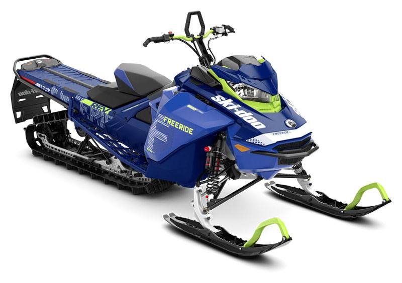 2020 Ski-Doo Freeride 165 850 E-TEC ES PowderMax Light 3.0 w/ FlexEdge HA in Colebrook, New Hampshire