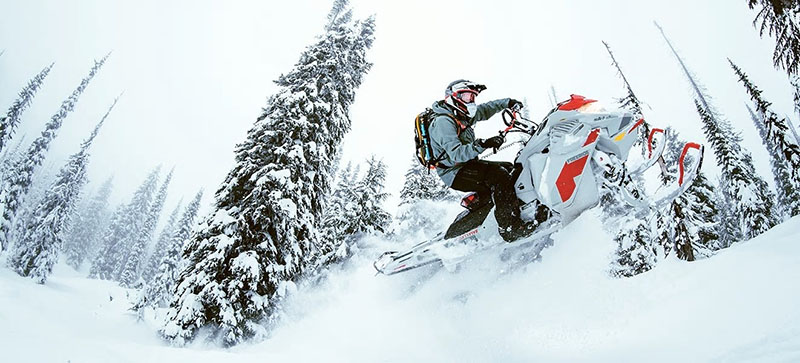 2021 Ski-Doo Freeride 165 850 E-TEC ES PowderMax Light FlexEdge 2.5 LAC in Woodinville, Washington - Photo 3