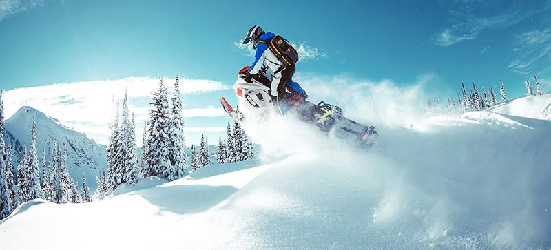 2021 Ski-Doo Freeride 165 850 E-TEC ES PowderMax Light FlexEdge 3.0 LAC in Hudson Falls, New York - Photo 2