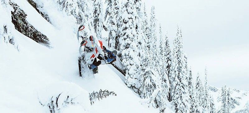 2021 Ski-Doo Freeride 165 850 E-TEC SHOT PowderMax Light FlexEdge 2.5 LAC in Land O Lakes, Wisconsin - Photo 10