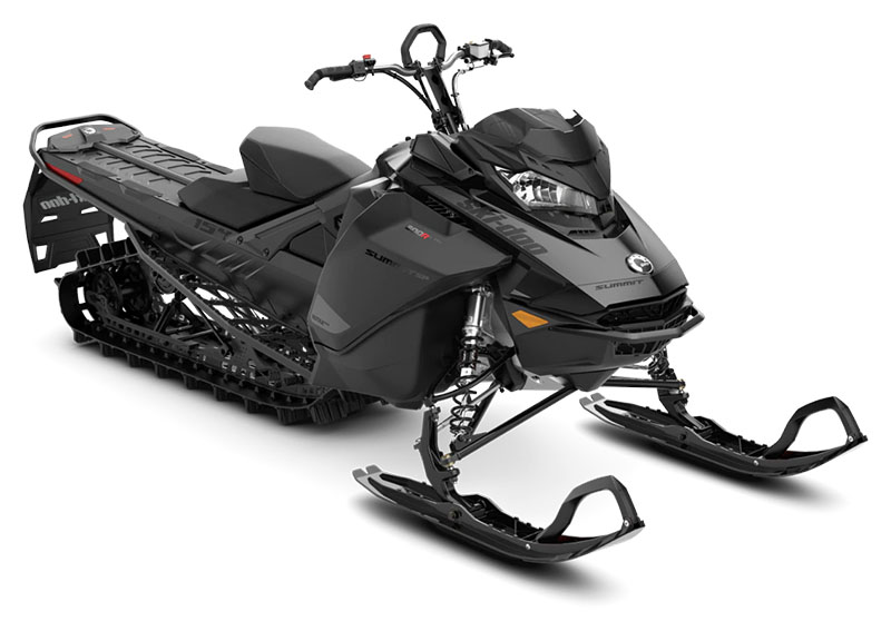 2021 Ski-Doo Summit SP 154 600R E-TEC SHOT PowderMax Light FlexEdge 2.5 in Evanston, Wyoming