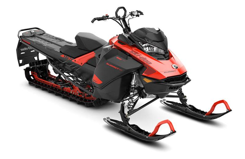 2021 Ski-Doo Summit SP 165 850 E-TEC SHOT PowderMax Light FlexEdge 2.5 in Sacramento, California - Photo 1