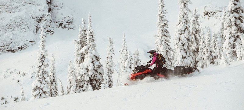 2021 Ski-Doo Summit X 154 850 E-TEC ES PowderMax Light FlexEdge 3.0 LAC in Land O Lakes, Wisconsin - Photo 10