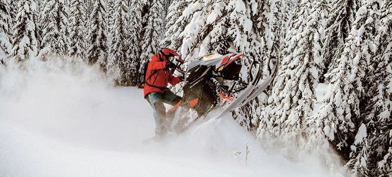 2021 Ski-Doo Summit X 154 850 E-TEC ES PowderMax Light FlexEdge 2.5 LAC in Land O Lakes, Wisconsin - Photo 6