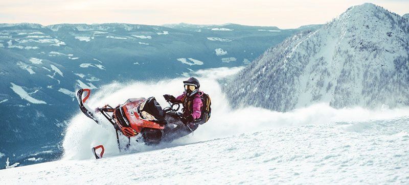 2021 Ski-Doo Summit X 165 850 E-TEC ES PowderMax Light FlexEdge 2.5 LAC in Sierra City, California