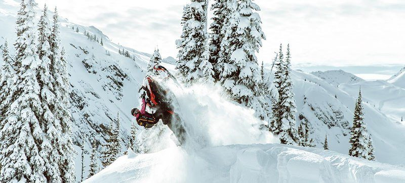 2021 Ski-Doo Summit X 165 850 E-TEC ES PowderMax Light FlexEdge 3.0 LAC in Land O Lakes, Wisconsin - Photo 13