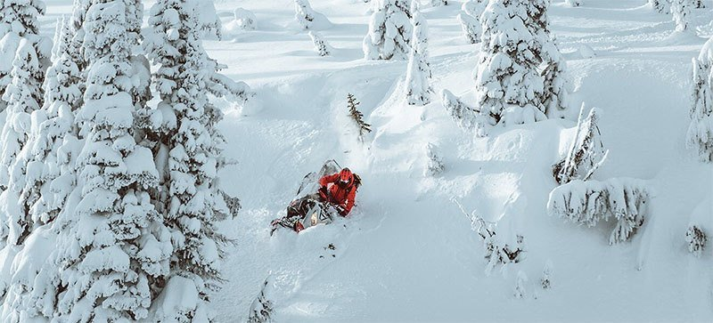 2021 Ski-Doo Summit X 165 850 E-TEC ES PowderMax Light FlexEdge 2.5 LAC in Wasilla, Alaska - Photo 18