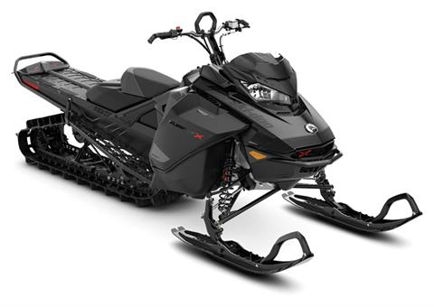 2021 Ski-Doo Summit X 165 850 E-TEC Turbo SHOT PowderMax Light FlexEdge 3.0 LAC in Colebrook, New Hampshire