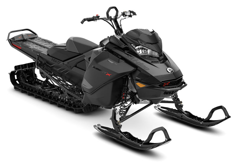 2021 Ski-Doo Summit X 165 850 E-TEC Turbo SHOT PowderMax Light FlexEdge 3.0 LAC in Unity, Maine - Photo 1
