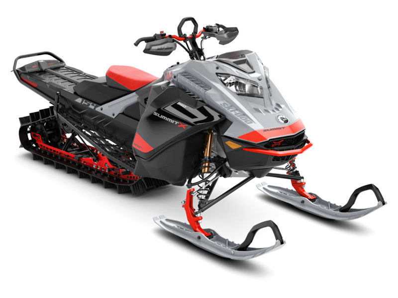 2021 Ski-Doo Summit X Expert 154 850 E-TEC SHOT PowderMax Light FlexEdge 3.0 LAC in Sacramento, California - Photo 1