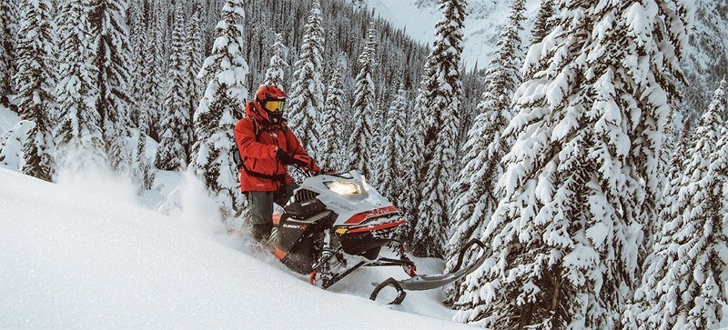 2021 Ski-Doo Summit X Expert 154 850 E-TEC SHOT PowderMax Light FlexEdge 2.5 LAC in Sierra City, California - Photo 12