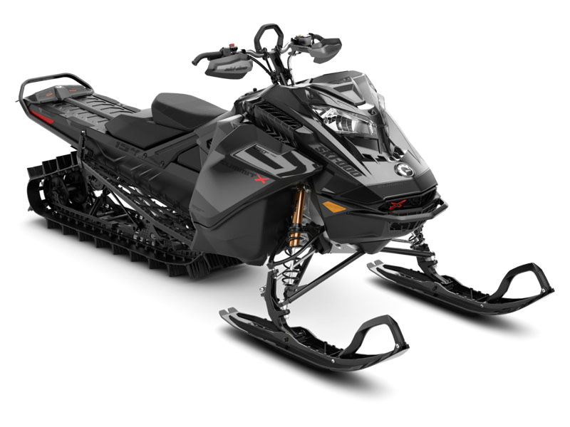 2021 Ski-Doo Summit X Expert 154 850 E-TEC SHOT PowderMax Light FlexEdge 3.0 LAC in Massapequa, New York