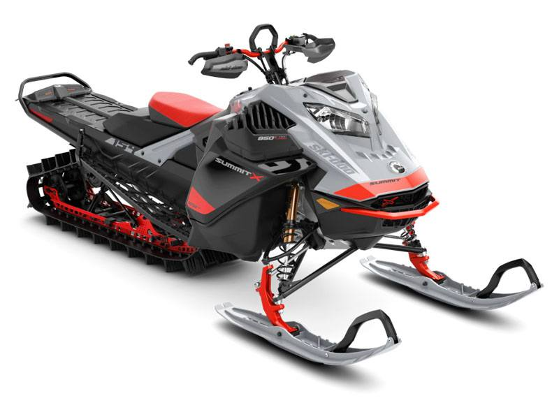 2021 Ski-Doo Summit X Expert 154 850 E-TEC Turbo SHOT PowderMax Light FlexEdge 2.5 in Boonville, New York - Photo 1