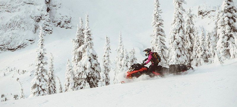 2021 Ski-Doo Summit X Expert 154 850 E-TEC Turbo SHOT PowderMax Light FlexEdge 2.5 in Speculator, New York - Photo 3