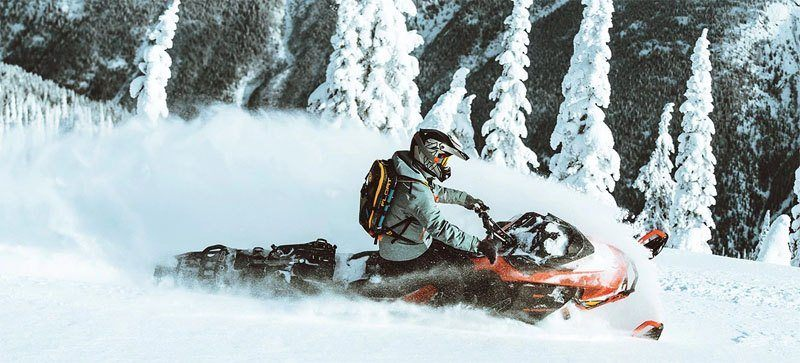 2021 Ski-Doo Summit X Expert 154 850 E-TEC Turbo SHOT PowderMax Light FlexEdge 2.5 in Land O Lakes, Wisconsin - Photo 8