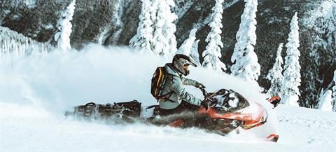 2021 Ski-Doo Summit X Expert 154 850 E-TEC Turbo SHOT PowderMax Light FlexEdge 2.5 in Speculator, New York - Photo 8