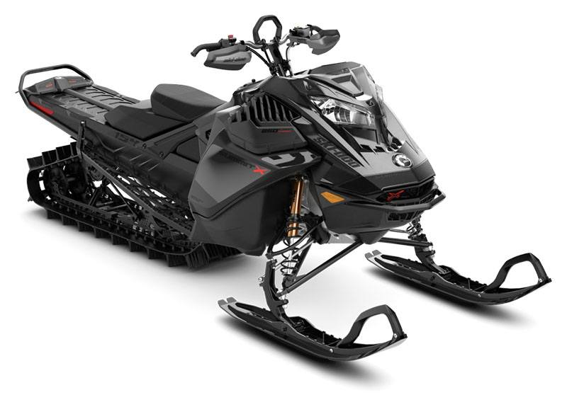2021 Ski-Doo Summit X Expert 154 850 E-TEC Turbo SHOT PowderMax Light FlexEdge 3.0 in Cherry Creek, New York - Photo 1
