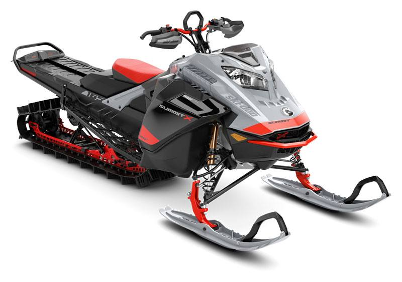 2021 Ski-Doo Summit X Expert 165 850 E-TEC SHOT PowderMax Light FlexEdge 3.0 LAC in Evanston, Wyoming