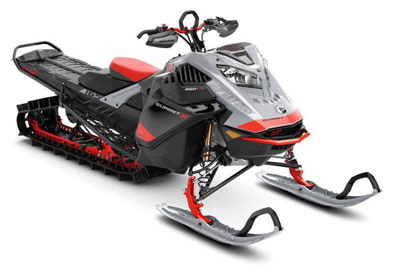 2021 Ski-Doo Summit X Expert 165 850 E-TEC Turbo SHOT PowderMax Light FlexEdge 3.0 in Augusta, Maine - Photo 1