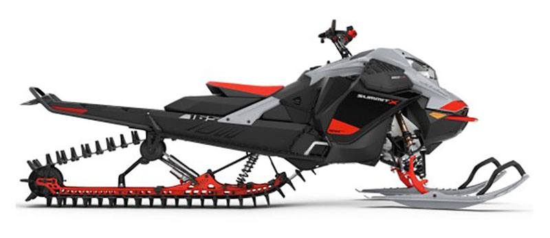2021 Ski-Doo Summit X Expert 165 850 E-TEC Turbo SHOT PowderMax Light FlexEdge 3.0 in Sacramento, California - Photo 2