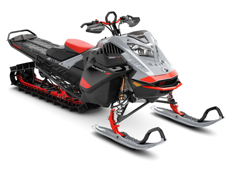 2021 Ski-Doo Summit X Expert 165 850 E-TEC Turbo SHOT PowderMax Light FlexEdge 3.0 in Hudson Falls, New York - Photo 1