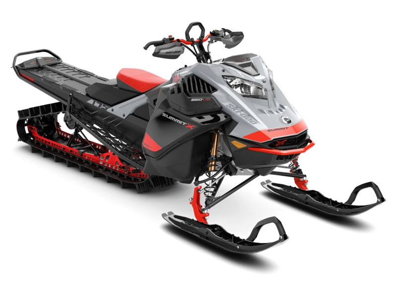 2021 Ski-Doo Summit X Expert 175 850 E-TEC Turbo SHOT PowderMax Light FlexEdge 3.0 in Evanston, Wyoming