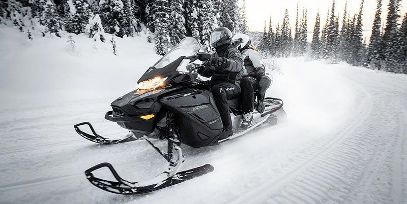 2021 Ski-Doo Grand Touring Limited 600R E-TEC ES Silent Track II 1.25 in Deer Park, Washington - Photo 7