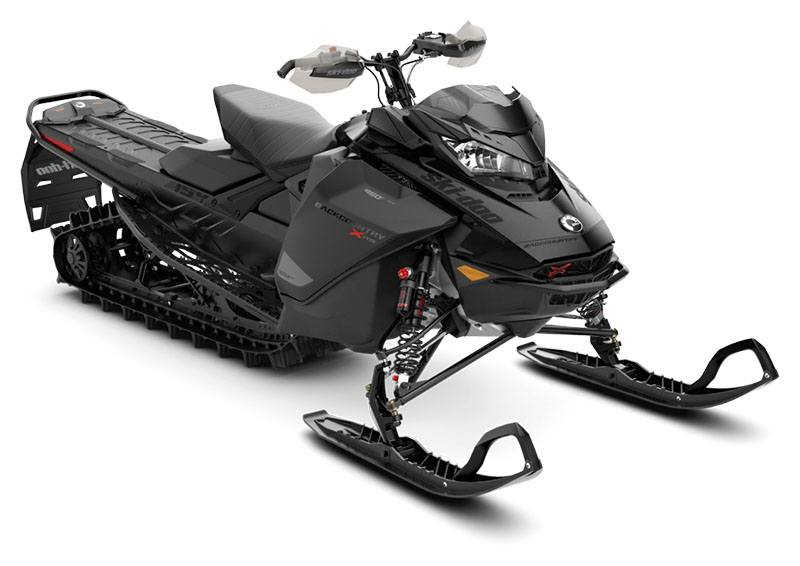 2021 Ski-Doo Backcountry X-RS 154 850 E-TEC ES PowderMax 2.5 w/ Premium Color Display in Barre, Massachusetts - Photo 1