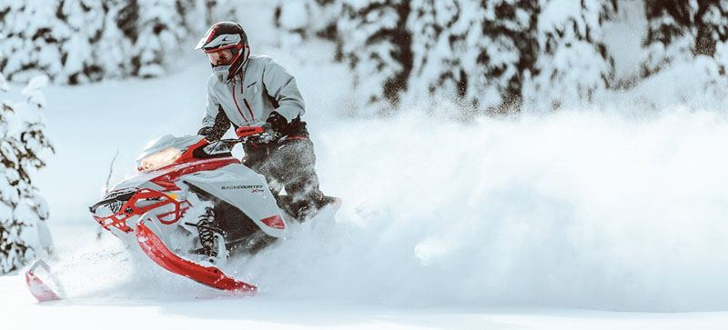 2021 Ski-Doo Backcountry X 850 E-TEC ES PowderMax 2.0 w/ Premium Color Display in Hillman, Michigan - Photo 6