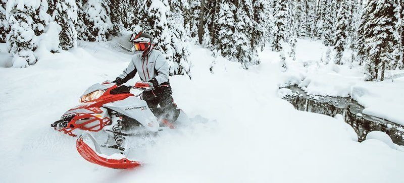 2021 Ski-Doo Backcountry X 850 E-TEC ES PowderMax 2.0 w/ Premium Color Display in Huron, Ohio - Photo 7
