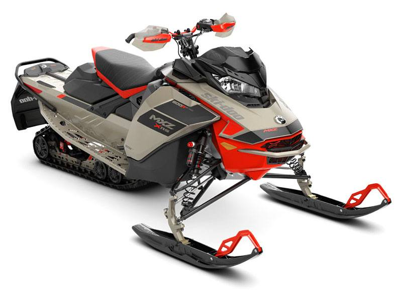 2021 Ski-Doo MXZ X-RS 600R E-TEC ES Ice Ripper XT 1.25 in Presque Isle, Maine - Photo 1