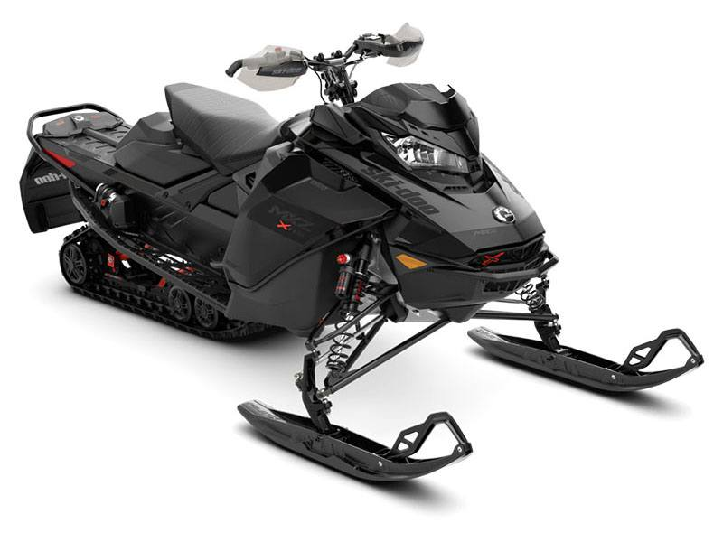 2021 Ski-Doo MXZ X-RS 850 E-TEC ES w/ QAS, Ice Ripper XT 1.25 in Presque Isle, Maine - Photo 1