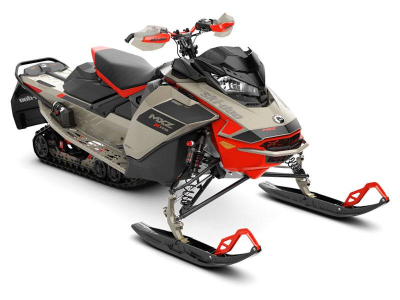 2021 Ski-Doo MXZ X-RS 850 E-TEC ES w/ QAS, Ice Ripper XT 1.25 in Augusta, Maine - Photo 1