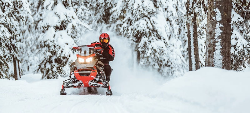 2021 Ski-Doo MXZ X-RS 850 E-TEC ES w/ Adj. Pkg, Ice Ripper XT 1.25 w/ Premium Color Display in Derby, Vermont - Photo 10