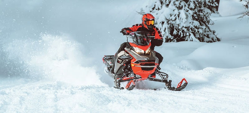 2021 Ski-Doo MXZ X-RS 850 E-TEC ES w/ Adj. Pkg, RipSaw 1.25 in Hillman, Michigan - Photo 7