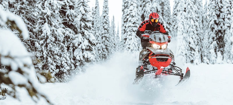 2021 Ski-Doo MXZ X-RS 850 E-TEC ES w/ Adj. Pkg, RipSaw 1.25 in Presque Isle, Maine - Photo 11