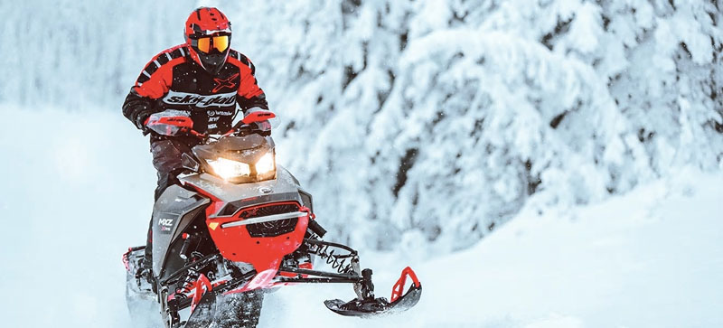2021 Ski-Doo MXZ X-RS 850 E-TEC ES w/ Adj. Pkg, RipSaw 1.25 in Hillman, Michigan - Photo 12