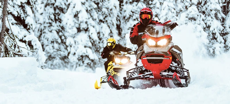 2021 Ski-Doo MXZ X-RS 850 E-TEC ES w/ Adj. Pkg, RipSaw 1.25 in Presque Isle, Maine - Photo 13