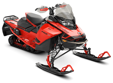 2021 Ski-Doo MXZ X 850 E-TEC ES w/ Adj. Pkg, Ice Ripper XT 1.25 in Rome, New York
