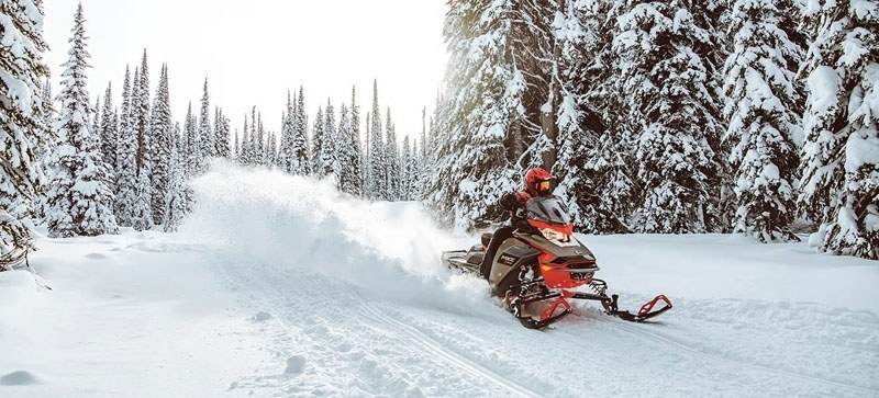 2021 Ski-Doo MXZ X 850 E-TEC ES w/ Adj. Pkg, Ice Ripper XT 1.25 in Speculator, New York - Photo 8