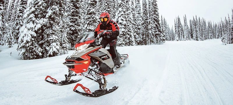 2021 Ski-Doo MXZ X 850 E-TEC ES w/ Adj. Pkg, Ice Ripper XT 1.25 in Speculator, New York - Photo 9