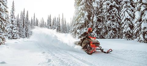 2021 Ski-Doo MXZ X 850 E-TEC ES w/ Adj. Pkg, Ice Ripper XT 1.25 w/ Premium Color Display in Speculator, New York - Photo 8