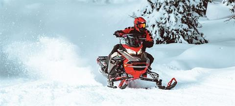 2021 Ski-Doo MXZ X 850 E-TEC ES w/ Adj. Pkg, RipSaw 1.25 in Land O Lakes, Wisconsin - Photo 5
