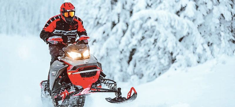 2021 Ski-Doo MXZ X 850 E-TEC ES w/ Adj. Pkg, RipSaw 1.25 in Land O Lakes, Wisconsin - Photo 12