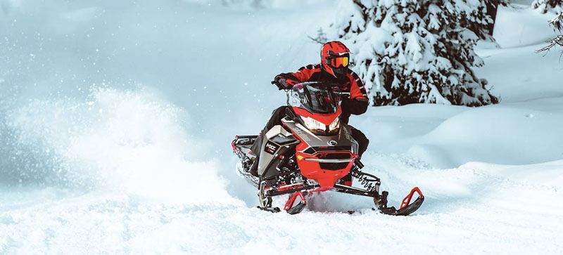 2021 Ski-Doo MXZ X 850 E-TEC ES w/ Adj. Pkg, RipSaw 1.25 in Dickinson, North Dakota - Photo 5