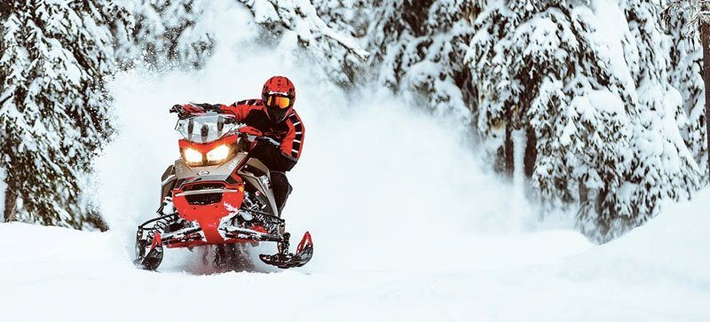2021 Ski-Doo MXZ X 850 E-TEC ES w/ Adj. Pkg, RipSaw 1.25 in Land O Lakes, Wisconsin - Photo 6