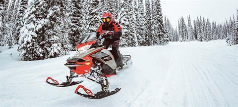 2021 Ski-Doo MXZ X 850 E-TEC ES w/ Adj. Pkg, RipSaw 1.25 in Land O Lakes, Wisconsin - Photo 9