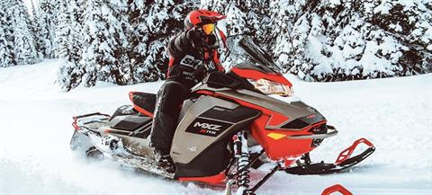 2021 Ski-Doo MXZ X 850 E-TEC ES w/ Adj. Pkg, RipSaw 1.25 in Land O Lakes, Wisconsin - Photo 14